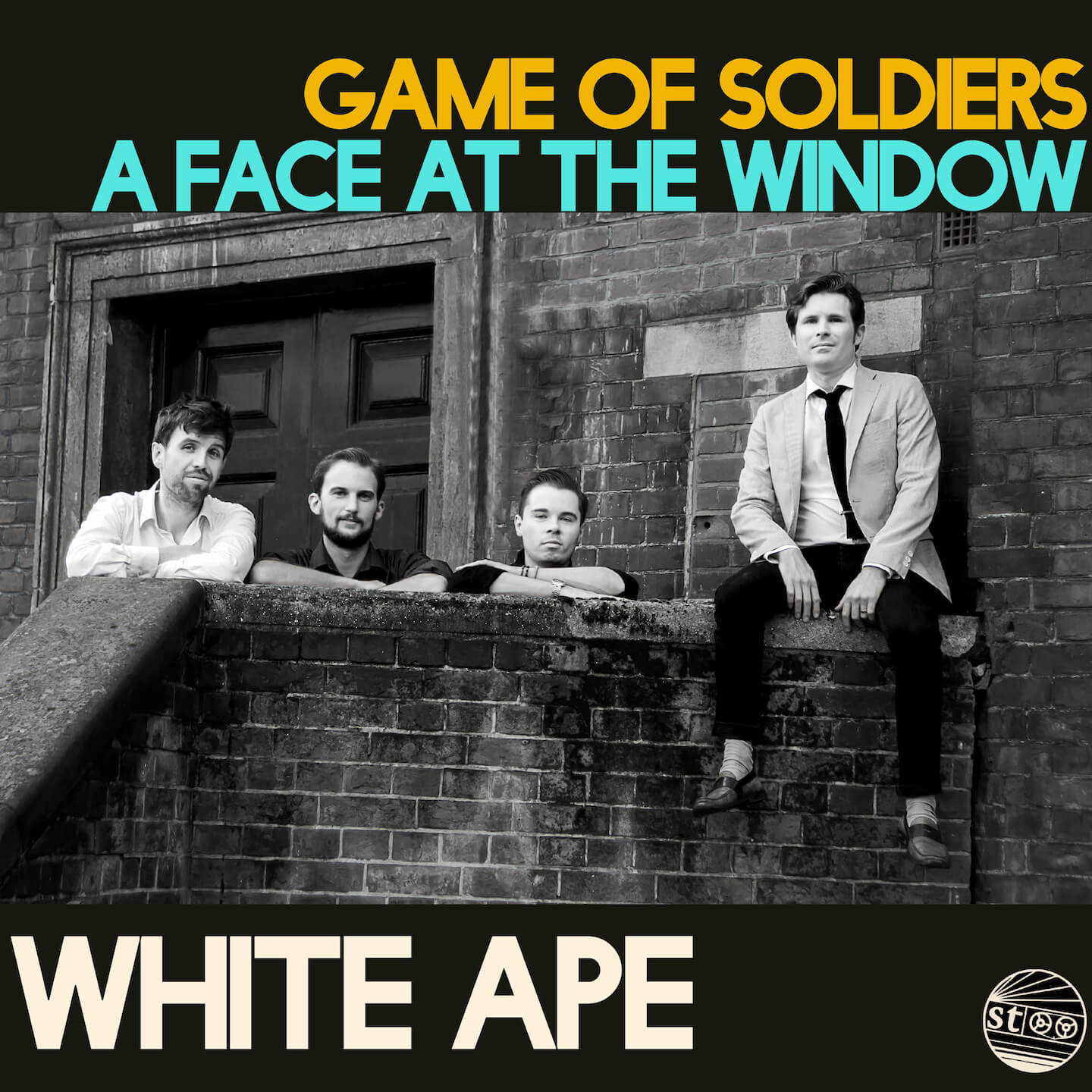 White Ape – Game of Soldiers / A Face At The Window Artwork