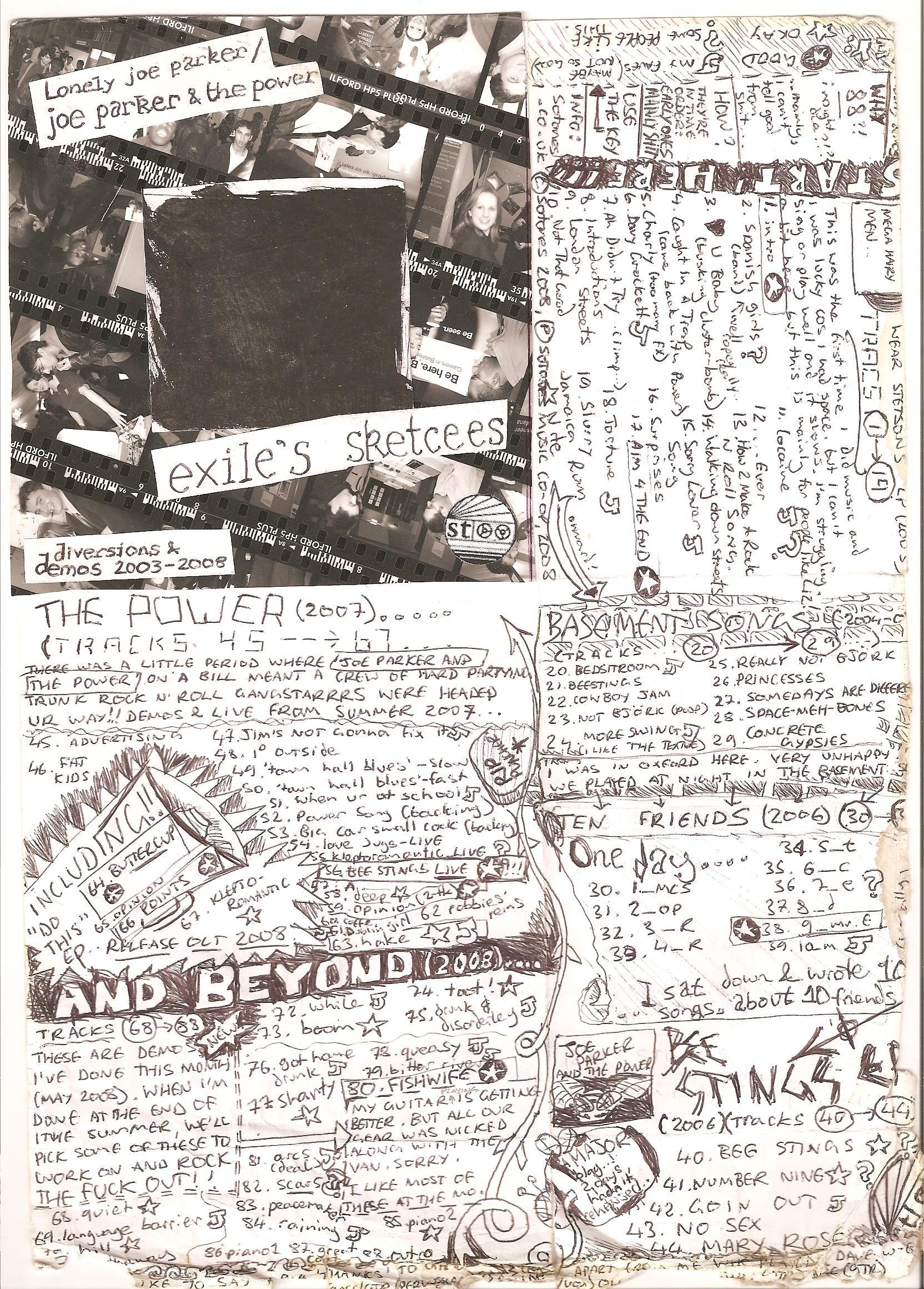 Exiles Sketches