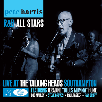 Pete  Harris – Live at the Talking Heads Artwork