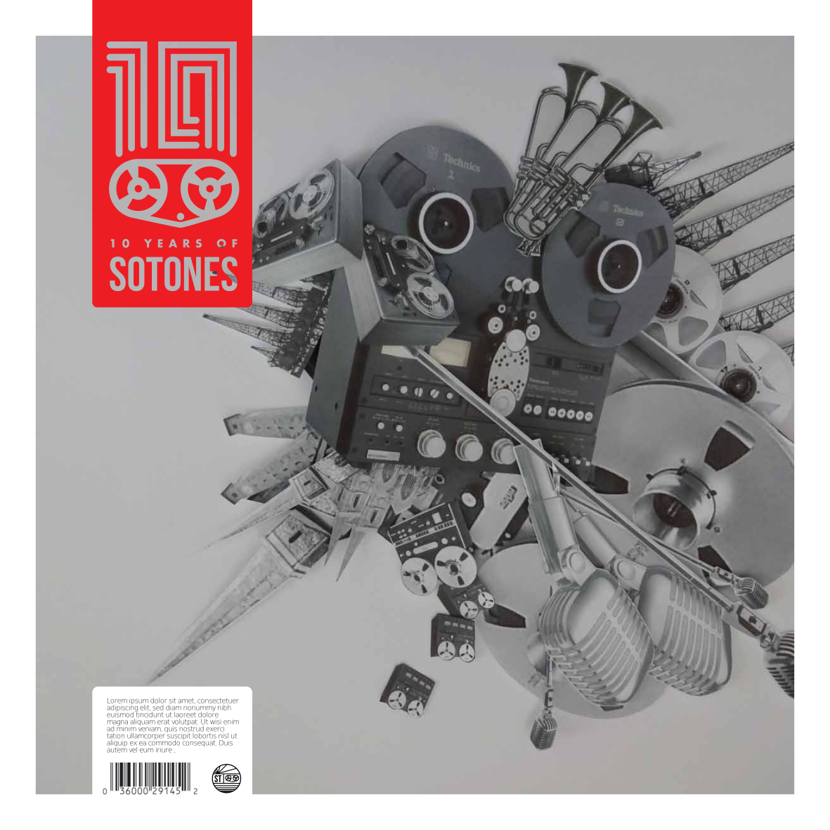 Various Artists – SOTONES10 Artwork